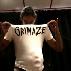 Grimaze Male Logo T-shirt White