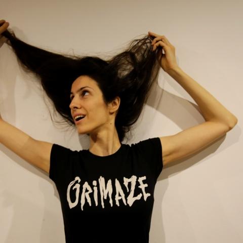 Grimaze Female Logo T-shirt Black