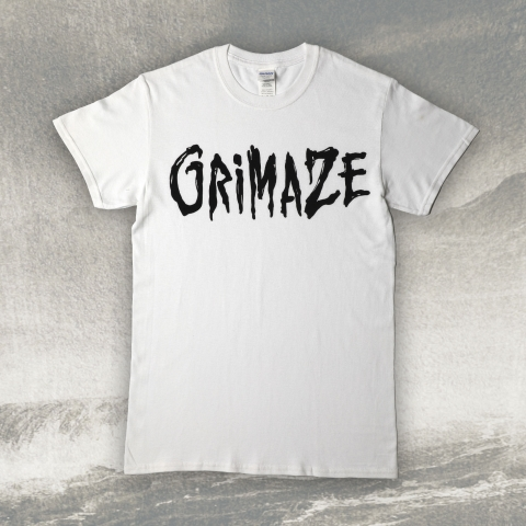 Grimaze Male Logo T-shirt White