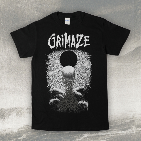 Facing the Void Grimaze T-shirt, Grey Artowrk
